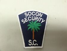 Patch Security Socon Security South Carolina Palm Tree