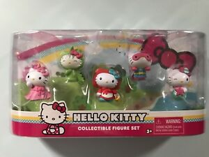 Hello Kitty Collectible Figure Set 5 Figure Set