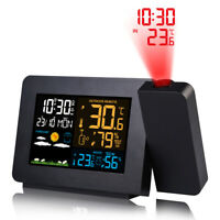Digital Alarm Clock Multifunction LED Projection Temperature  S8