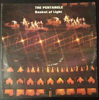 "THE PENTANGLE - BASKET OF LIGHT 12"" Vinyl LP TRA 205 1969 G+/VG+"