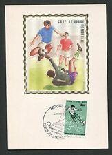 ANDORRA MK 1986 FUßBALL-WM FOOTBALL SOCCER MAXIMUMKARTE MAXIMUM CARD MC CM d313