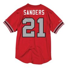 Mitchell   Ness Atlanta Falcons Deion Sanders Jersey Mens Size 2xl NFL  Jersey ab5851c20