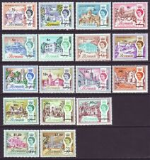 Bermuda 1970 SC 238-254 MNH Set Building
