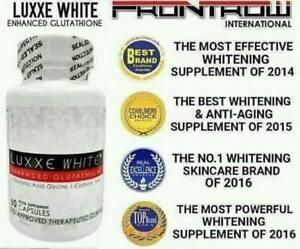 100% Authentic Luxxe White Enhanced Glutathione Skin whitening Supplement