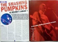 THE SMASHING PUMPKINS => 2 pages 2000 FRENCH clipping