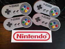 Reformado Snes Super Nintendo Game Pad Almohadilla Oficial Controlador Original