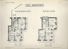 HAUTE-SAVOIE = CHALET ALPESTRE = CHAMONIX + Plan du chalet Les Moraines