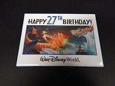 Disney Button Pin Walt Disney World Happy 27th Birthday
