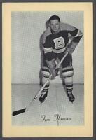 1944-63 Beehive Group 2 Photos Boston Bruins #20 Fern Flaman