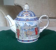 Tea Pot - James Sadler - Thameside London Feature. Lovely Collectable