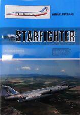 Warpaint Series No.43 - Lockheed F-104 Starfighter           64 Pages      Book