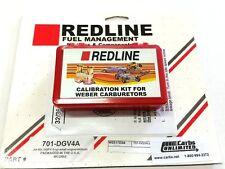 Redline Jet Kit fits 32/36 Weber carb DGEV DGAV 4cyl High Altitude 2500-10000+