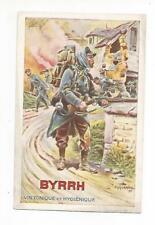 C1 - Cartolina Pubblicitaria Illustrata Byrrh Vin Tonique Francia WW1 1916