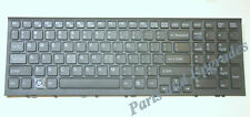 OEM Sony Vaio VPC-EE41FX VPCEE41FX PCG-6161L Black Keyboard With Frame NEW
