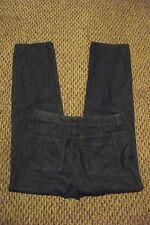 womens liz claiborne straight leg medium wash denim jeans size 6 29 x 31