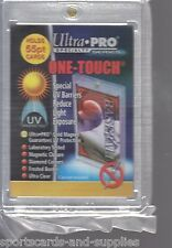 24 ULTRA PRO ONE TOUCH MAGNETIC HOLDERS 35pt 55pt 75pt and 100pt 6 of Each