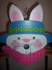 New listing Spring Easter Bunny Birdhouse