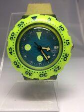 "Swatch Watch ""Bora Bora"" SDN400 Scuba Unisex 1990"