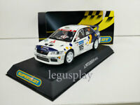 Slot Car Scalextric Superslot H2588 Mitsubishi Lancer #105 Evol 7 WRC