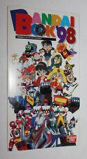 1998 Bandai Japan Product Power Ranger Lost Galaxy Ultraman Sentai Mini Catalog