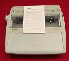 Brother GX-6750 Correctronic Electronic Typewriter with Cover! Works Great!