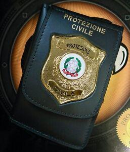 Portatessera Protezione Civile R.I. Repubblica Italiana VEGA HOLSTER 1WD