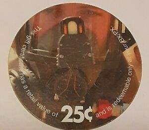 2C25  AAFES  Pog of Airman in Mask from 2003 printing  Very Fine condition.