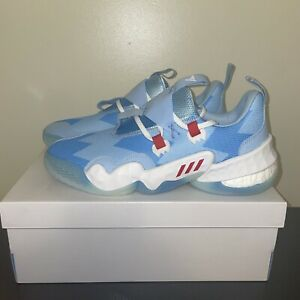 Adidas Men's Trae Young 1 H68997 Ice Trae Blue White Basketball Shoes Size 11.5