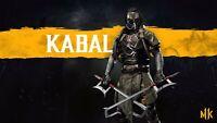 Video Game  Mortal Kombat 11 Kabal Silk Poster 24 X 14 inch
