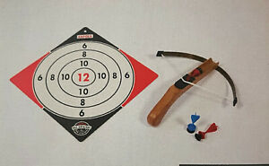 Gapola Armbrust-Pistole für Kinder aus Holz, mit 3 Sicherheitspfeilen Neu OVP,