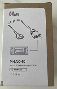 Masimo SET 2525 M-LNC-10 OEM Extension Adapter Cable 15 Pin to LNC 14 Pin - 10FT