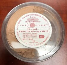 SHEER COVER Mineral Foundation Powder 4g. LATTE. Ex Japan. Sealed. Free Shipping