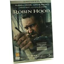 Robin Des Bois Montage Du Directeur DVD Film Région 2 Staring Russell Crowe