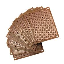 12 x 5x7cm Lochrasterplatte Lochrasterplatine Leiterplatte Platine PCB Board