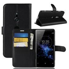 Funda para el Sony Xperia XZ3 Libro Cover Wallet Case-s bolsa Negro