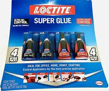 Loctite 4 Retail Packs Of Super Glue 2 Gel 2 Liquid New For Home Office Hobby