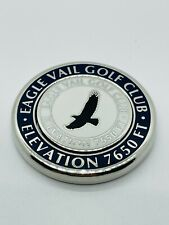 EagleVail Golf Club Colorado Navy Magnetic Ball Marker Coin Medallion Mint Rare