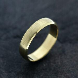 Gold Ring 585er Gelbgold 14 Karat, Größe 56