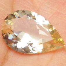 GOLDEN OREGON SUNSTONE 4.19Ct FLAWLESS-LIGHT PASTEL GOLD-TOP JEWELRY!!