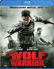 WOLF WARRIOR (Scott Adkins) - BLU RAY - Region Free - Sealed