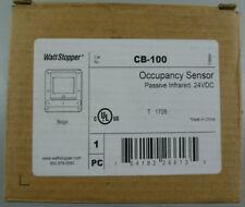 WATTSTOPPER CB-100 Occupancy Sensor Passive Infared 24VDC NEW