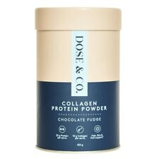 Dose & Co. Collagen Protein Powder Chocolate Fudge 420g