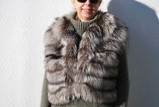 Taillenlange Damenjacken & -mäntel mit Pelz Größe 42