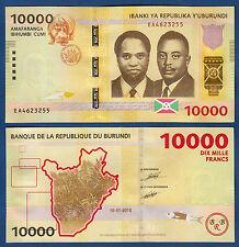 BURUNDI 10.000 Francs  2015  UNC  P. 54