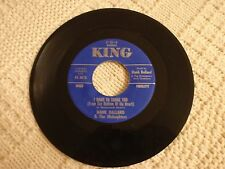 HANK BALLARD AND THE MIDNIGHTERS CAN'T YOU SEE I NEED A FRIEND/SUNSET KING 5550