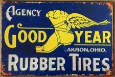 TYRE Garage Retro Vintage Metal Tin Sign Rustic Look . MAN CAVE AU SELLER
