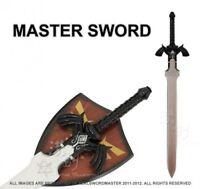 1:1 Full SIze Dark Link's Master Sword from the Legend of Zelda with Plaque New