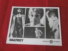 ROGER DALTREY~ THE WHO~ RARE PROMO PHOTO~ 8 X 10~TRACK RECORDS ~COLLECTABLES