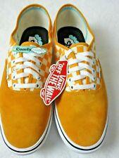 Vans Comfycush Authentic Mens Checker Zinnia Orange White shoes Size 10 NWT