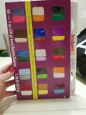 Sculpey III® 30 Colour Oven-Bake Clay Sampler New In Box Unopened